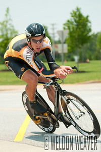 Thomas Zirbel (Team Optum p/b Kelly Benefit Strategies).  2012 US Pro Time Trial Championship May 26, 2012.