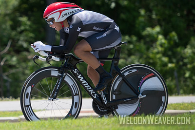 Carmen Small Women's US National Time Trial Champion.  2013 US Pros Chattanooga.  Photo by Weldon Weaver.
