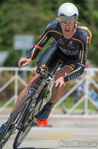 Tom Zirbel, Men's US National Time Trial Champion.  2013 US Pros Chattanooga.  Photo by Weldon Weaver.