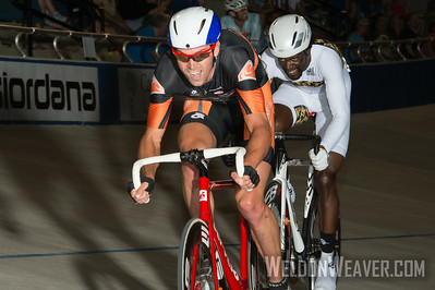 Bobby Lea in control at the 2013 Mass Start National Championships in Rock Hill. Photo by Weldon Weaver.