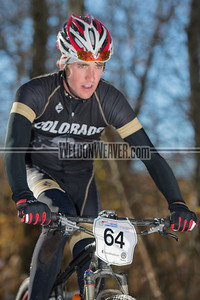 Cross Country Division 1 and Division 2 Men.  USA Cycling Collegiate Mountain Bike National Championships Oct. 26 - Beech Mountain, NC.  Photo by Weldon Weaver.