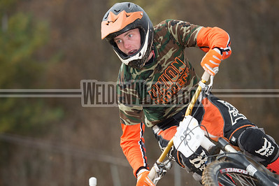 Dual Slalom Qualifing Division 1 and Division 2, Men and Women.  USA Cycling Collegiate Mountain Bike National Championships Oct. 27 - Beech Mountain, NC.  Photo by Weldon Weaver.