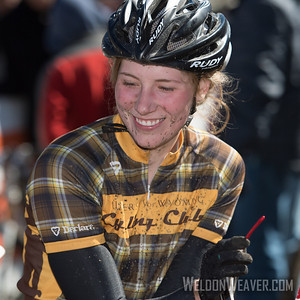 Cross Country Division 1 and Division 2 Women.  USA Cycling Collegiate Mountain Bike National Championships Oct. 26 - Beech Mountain, NC.  Photo by Weldon Weaver.