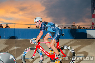 Bobby Lea (Custom Velo) .  2014 USAC TrackNats Rock Hill, SC.  Photo by Weldon Weaver.