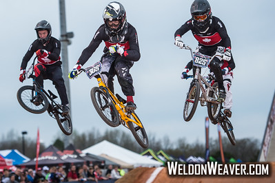 Novant Health BMX Supercross March, 2015.  Photo by Weldon Weaver.