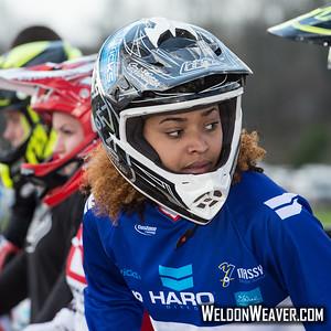 Novant Health BMX Supercross March, 2015.  Photo by Weldon Weaver.