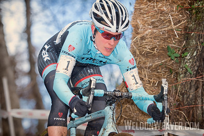 Winner Katherine COMPTON. Elite Women .2016CXNats. Photo by Weldon Weaver.