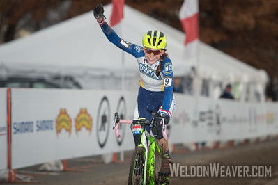 Emily SHIELDS. Winner Collegiate Women Club. 2017CXNats. Photo by Weldon Weaver,