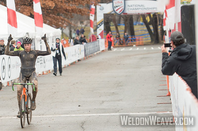 Winner Collegiate Men Club 2017CXNats. Photo by Weldon Weaver,