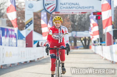 Winner Women 60+++.2017CXNats. Photo by Weldon Weaver.