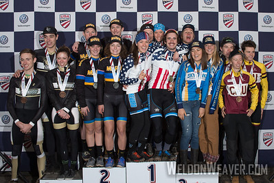 Coll Varisty Relay.2017CXNats. Photo by Weldon Weaver.