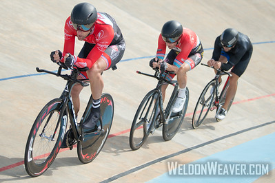 M 35Plus Team Pursuit Winners - The Expendables.