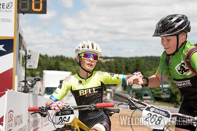 XC Non Championship racing. 2018 MTB Nats.  Photo by Weldon Weaver.