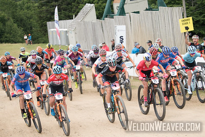 Pro Women. 2018 MTB Nats Short Track. Photo by Weldon Weaver.