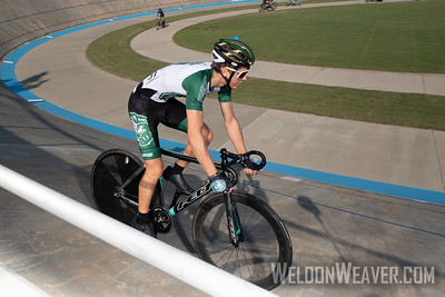 31 GRIMES, Jaden PIEDMONT COLLEGE . 2019 USA Cycling Collegiate Track Nationals. Rock Hill, SC.  Photo by Weldon Weaver.
