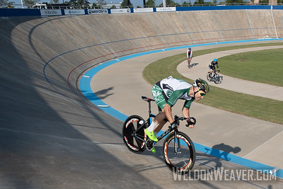 45 MCLAUGHLIN, Alex PIEDMONT COLLEGE. 2019 USA Cycling Collegiate Track Nationals. Rock Hill, SC.  Photo by Weldon Weaver.