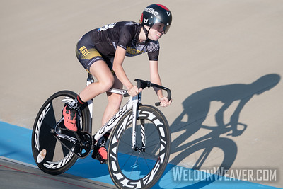 245, OESTREICH, Annalise, KENNESAW STATE UNIVERSITY. 2019 USA Cycling Collegiate Track Nationals. Rock Hill, SC.  Photo by Weldon Weaver.