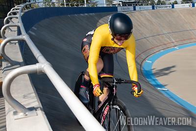 204, DREIER, Josefine, COLORADO MESA UNIVERSITY. 2019 USA Cycling Collegiate Track Nationals. Rock Hill, SC.  Photo by Weldon Weaver.