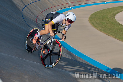 201, RAY, Olivia, SAVANNAH COLLEGE OF ART & DESIGN - SAVANNAH. 2019 USA Cycling Collegiate Track Nationals. Rock Hill, SC.  Photo by Weldon Weaver.