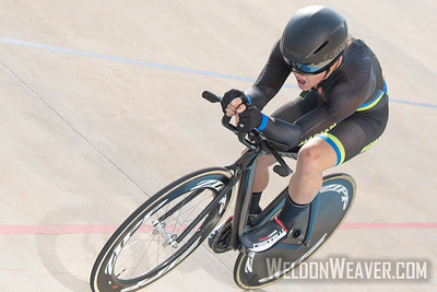 STRONG, Hayden. 2019 USA Cycling Collegiate Track Nationals. Rock Hill, SC.  Photo by Weldon Weaver.
