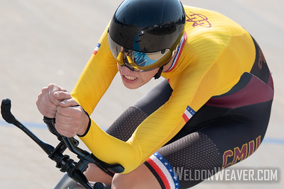 ROED, Torbjorn. 2019 USA Cycling Collegiate Track Nationals. Rock Hill, SC.  Photo by Weldon Weaver.