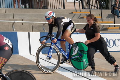 Lindenwood. 2019 USA Cycling Collegiate Track Nationals. Rock Hill, SC.  Photo by Weldon Weaver.