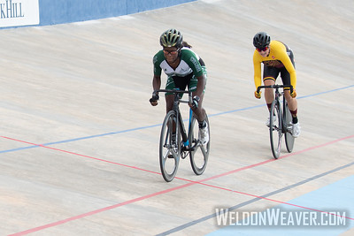 Piedmont. 2019 USA Cycling Collegiate Track Nationals. Rock Hill, SC.  Photo by Weldon Weaver.