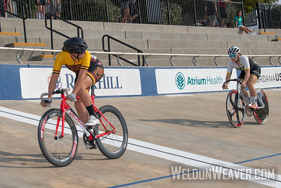 238, COLORADO MESA UNIVERSITY,  THEROUX IZQUIERDO, Dafne. 2019 USA Cycling Collegiate Track Nationals. Rock Hill, SC.  Photo by Weldon Weaver.
