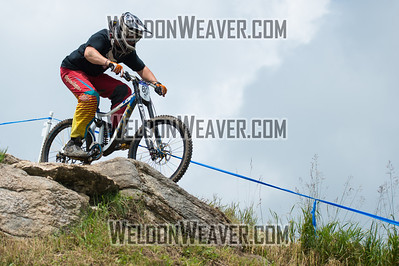 2012 USACycling Gravity Nationals.  #80B John Duffy SLOATSBURG,NY DH JR Cat 1P 17-18 M Photo by Weldon Weaver.