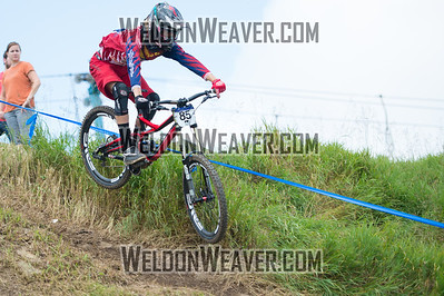 2012 USACycling Gravity Nationals.  #85B Cody Kelley RIVERTON,UT DH JR Cat 1P 17-18 M Photo by Weldon Weaver.