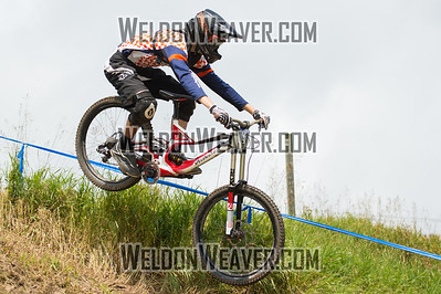 2012 USACycling Gravity Nationals.  #91B Ian Turner PURCELLVILLE,VA DH JR Cat 1P 17-18 M Photo by Weldon Weaver.