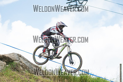 2012 USACycling Gravity Nationals.  #93B Oliver Vowel DILLON,CO DH JR Cat 1P 17-18 M Photo by Weldon Weaver.