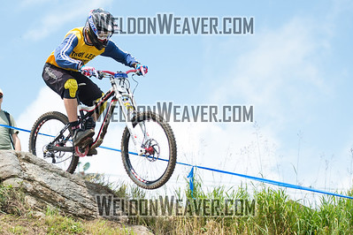 2012 USACycling Gravity Nationals.  #77B Luca Cometti SAN DIEGO,CA DH JR Cat 1P 17-18 M Photo by Weldon Weaver.