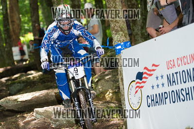 2012 USACycling Gravity Nationals.  #9 Gavin Vaughan SHARON,VT DH Pro M Photo by Weldon Weaver.