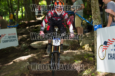 2012 USACycling Gravity Nationals.  #51 Neko Mulally READING,PA DH Pro M Photo by Weldon Weaver.