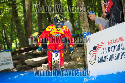 2012 USACycling Gravity Nationals.  #10 Jason Memmelaar CHESTER,NY DH Pro M Photo by Weldon Weaver.