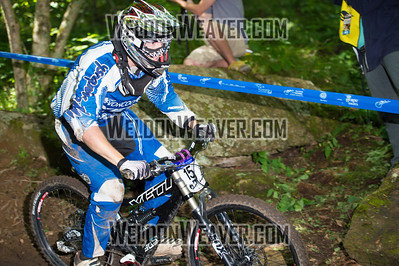2012 USACycling Gravity Nationals.  #15 Tim White BURLINGTON,VT DH Pro M Photo by Weldon Weaver.
