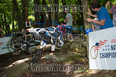 2012 USACycling Gravity Nationals.  #4 Eliot Jackson WESTLAKE VILLAGE,CA DH Pro M Photo by Weldon Weaver.
