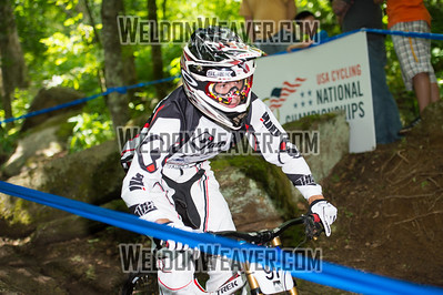 2012 USACycling Gravity Nationals.  #97 Logan Mulally READING,PA DH Pro M Photo by Weldon Weaver.