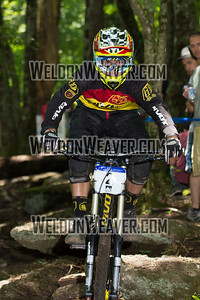 2012 USACycling Gravity Nationals.  #2 Luke Strobel ISSAQUAH,WA DH Pro M Photo by Weldon Weaver.