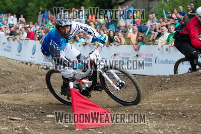2012 USACycling Gravity Nationals.  #7   Kenneth (Chuck) Pitts    Mcdonough, GA. DS Pro M Final Photo by Weldon Weaver.