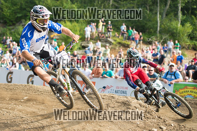 2012 USACycling Gravity Nationals.  #4   Michael Haderer    Concord, CA. DS Pro M Final Photo by Weldon Weaver.