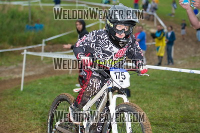 2012 Gravity Nationals. 175 Merten McKenna JAMUL CA 595.68 DH F Junior 1-1. Photo by Weldon Weaver