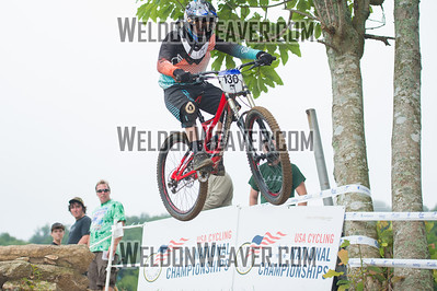 2012 Gravity Nationals. 133 Rogers Joshua CLAYTON NC 590 DH M Junior 13-1. Photo by Weldon Weaver