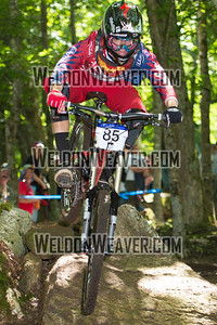 2012 USACycling Gravity Nationals.  85 2 Kelley Cody Cat 1 M 17-18. Photo by Weldon Weaver