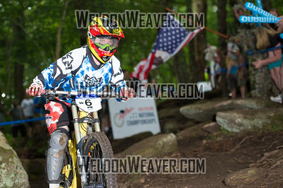 2012 USACycling Gravity Nationals.  6 10 Price Amber Royal Racing USA Pro F. Photo by Weldon Weaver
