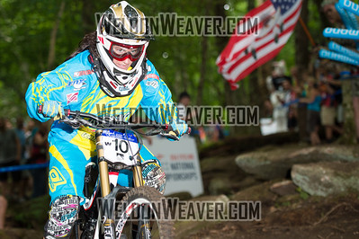 2012 USACycling Gravity Nationals.  10 2 Buhl Melissa Pro F. Photo by Weldon Weaver