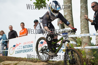 2012 USACycling Gravity Nationals.  #449B James Burkhardt ANGIER,NC CAT 3 Men 19-29 Photo by Weldon Weaver.