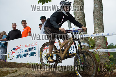 2012 USACycling Gravity Nationals.  #456B Adam Schell WILMINGTON,NC CAT 3 Men 19-29 Photo by Weldon Weaver.