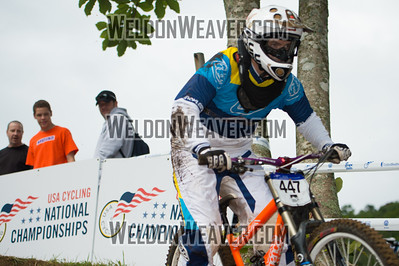 2012 USACycling Gravity Nationals.  #447B Blake Bass ASHEVILLE,NC CAT 3 Men 19-29 Photo by Weldon Weaver.